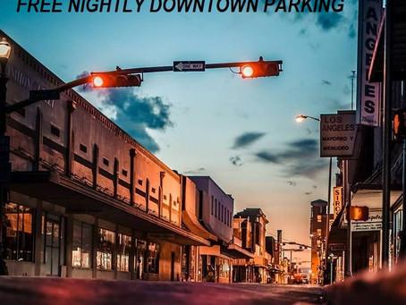 City of Laredo Free Parking