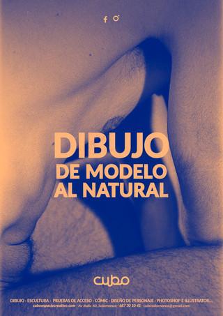 DIBUJO DE MODELO AL NATURAL EN SALAMANCA