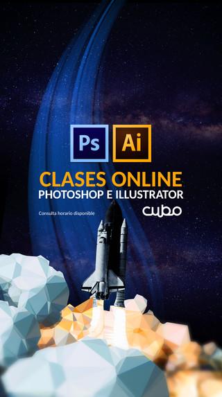 CLASES ONLINE DE PHOTOSHOP E ILLUSTRATOR