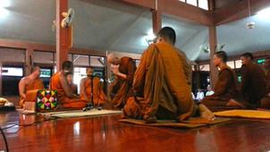 LÖNNSTRÖM COMPLETES MONKHOOD IN THAILAND
