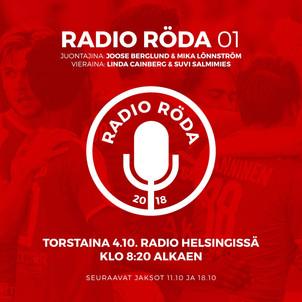 LÖNNSTRÖM TAKES PART IN RADIO RÖDÄ SHOW LAUNCH