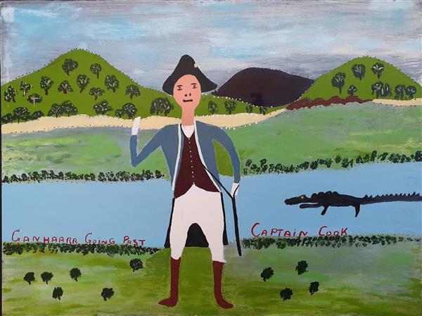Ganhaar Going Past Captain Cook