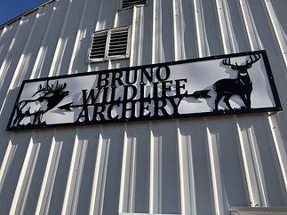 Archery Range Sign - Kevin Pulvermacher.