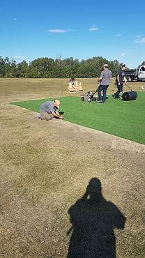 Installing New Greens 3 - Darnell Weiman