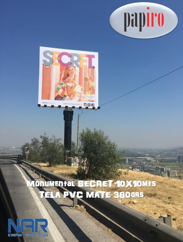 TELA PVC 380grs