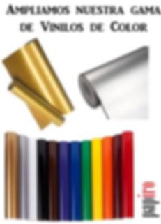 Vinilos de color Papiro