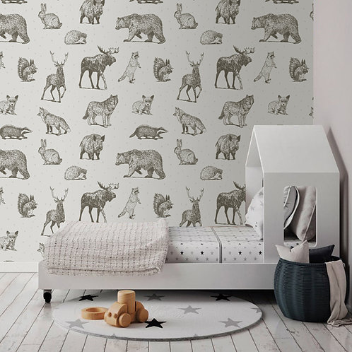 Mural estilo Nordico