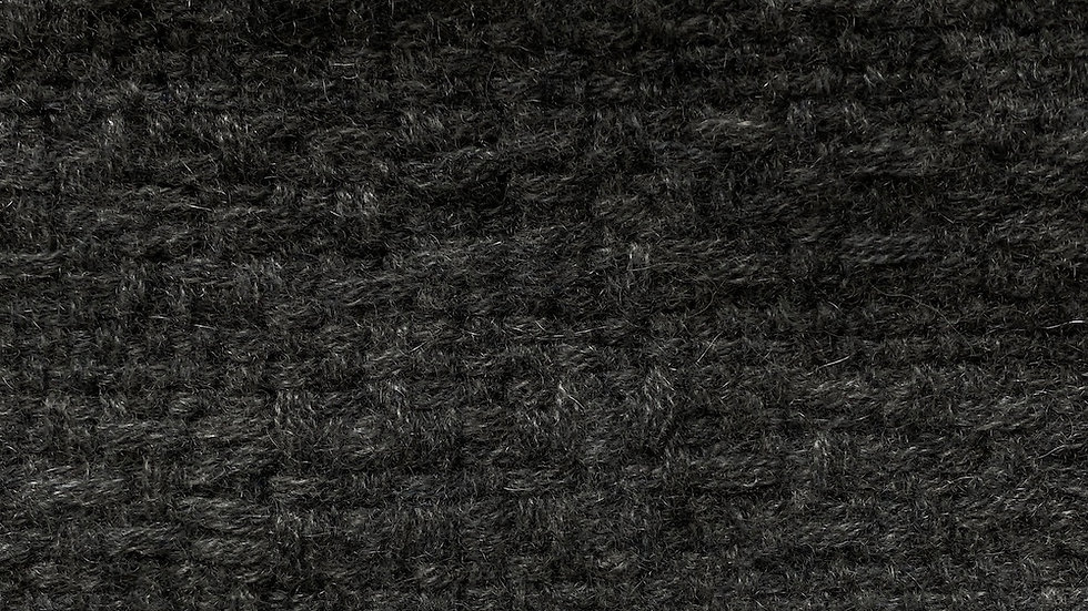Echarpe en Cachemire gris anthracite
