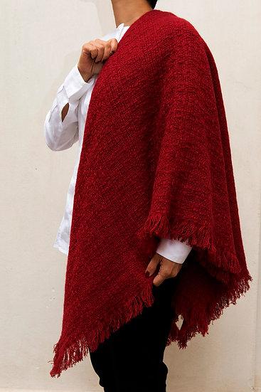 Echarpe en Cachemire rouge