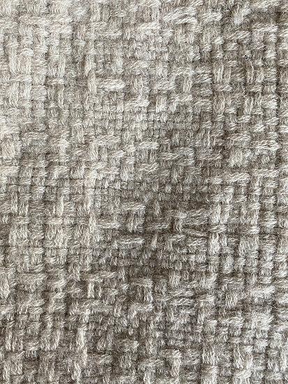 Longue Echarpe en Cachemire gris beige