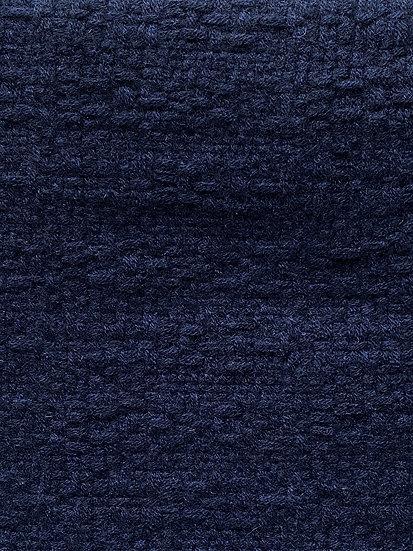 Longue Echarpe en Cachemire blue marine