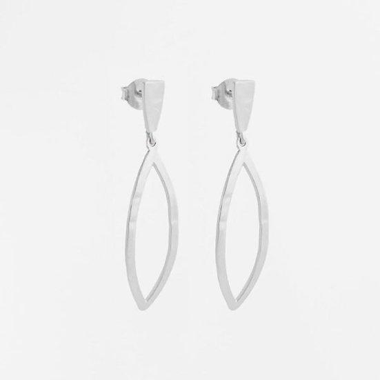 Maria L Silver Earrings