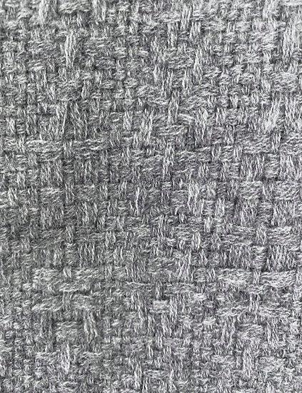 Longue Echarpe en Cachemire gris flanelle (Flint grey)
