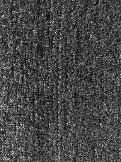 Longue Echarpe en Cachemire gris moyen (steel grey)