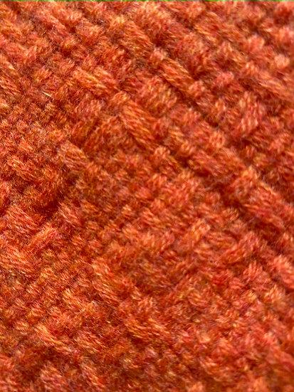 Longue Echarpe en Cachemire orange abricot