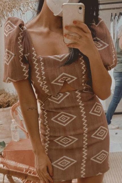 Vest. Curto de Jacquard Manga Bufante