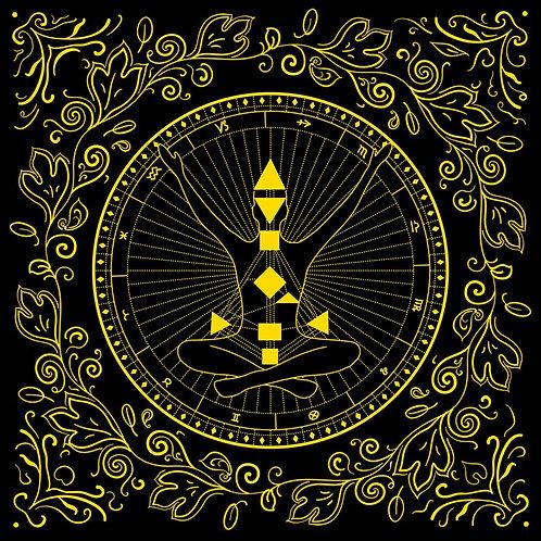 オラクルクロス☆ Gates to Soul Wisdom Oracle Cloth