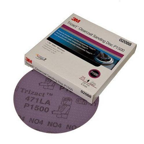 Disco Lija Velcro Trizact 3M