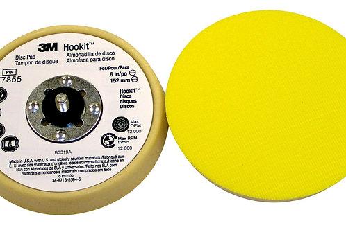 """Base / respaldo disco velcro o Hookit 3M 6"""""""