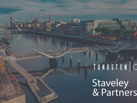 Tungsten Capital, acquires Dublin-based consultancy, Staveley and Partners