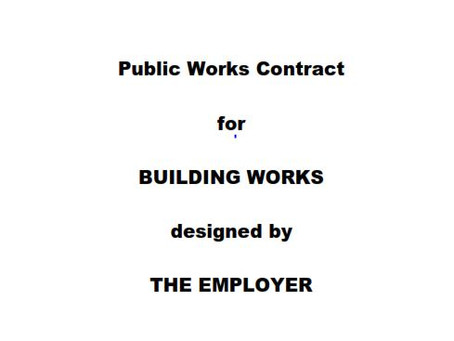 CMG Public Works Conference 2020 - Paper on Clause 10.6 of the Public Works Contract