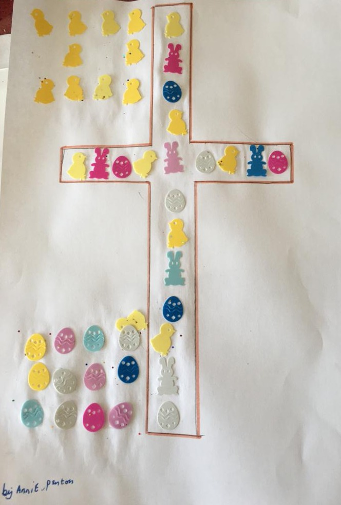 A7 Easter Cross