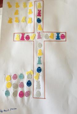 A7 Easter Cross