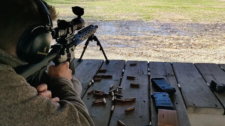 BrassBully Bench Shoot
