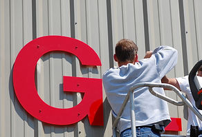 Sign Installing