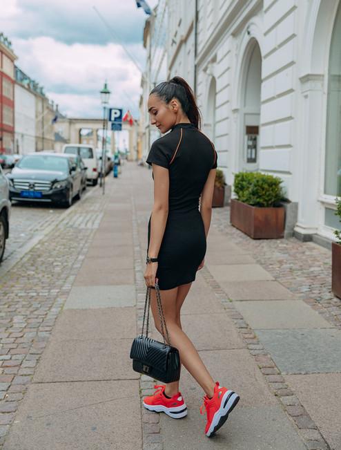 Fitness girl in Copenhagen
