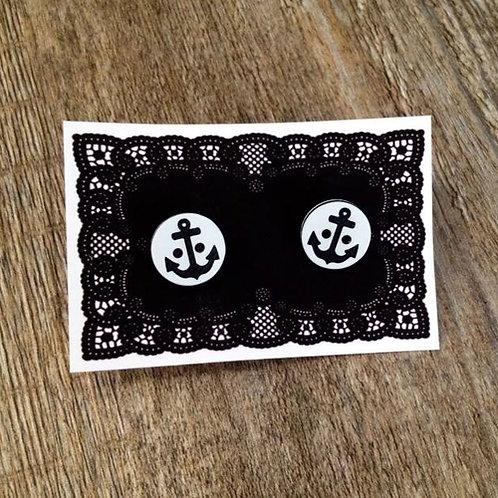 ship ahoy 15mm button studs - black