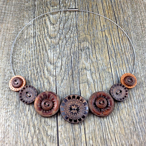 woody cable necklace