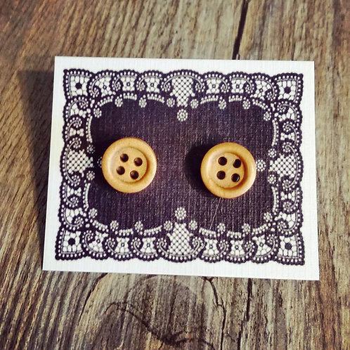 woody 11mm button studs