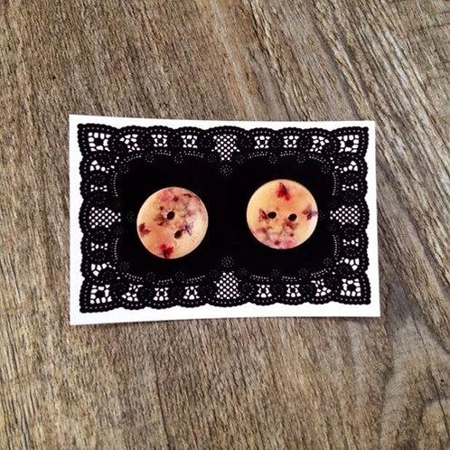 flutterbies 15mm button studs
