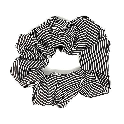 Pinstripe Scrunchies