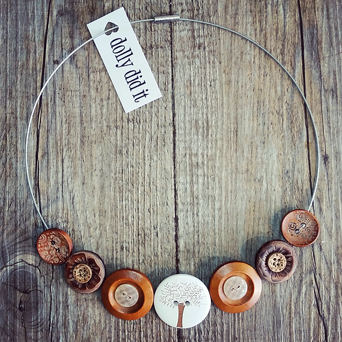 naturale tree of life cable necklace
