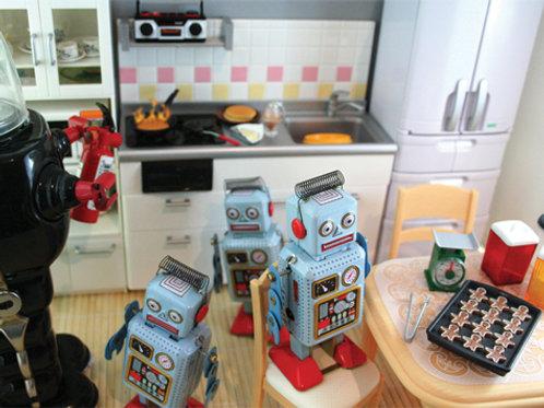 kid's in the kitchen