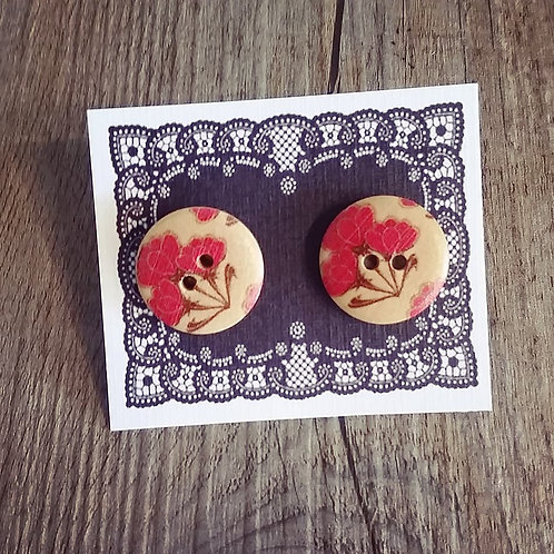florence 18mm button studs