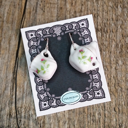 rosebuds  milk & sugar earrings