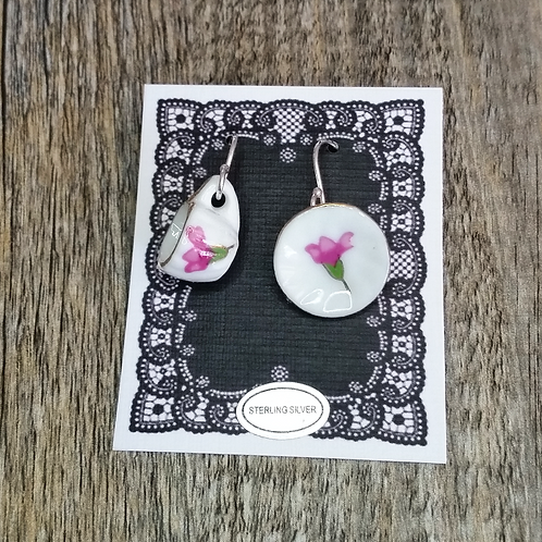 blossom cup & saucer earrings
