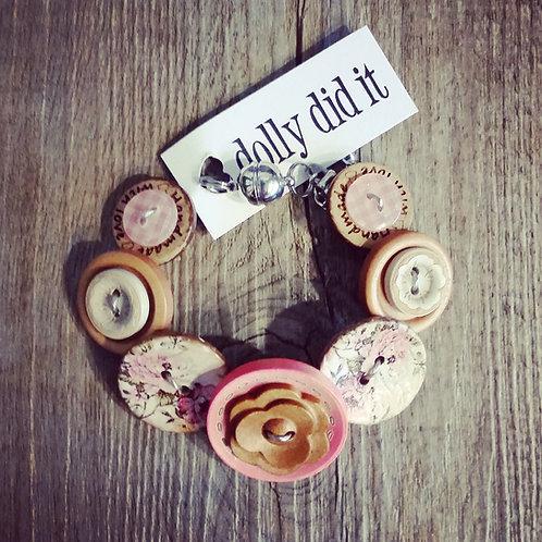 naturally rosie button bracelet