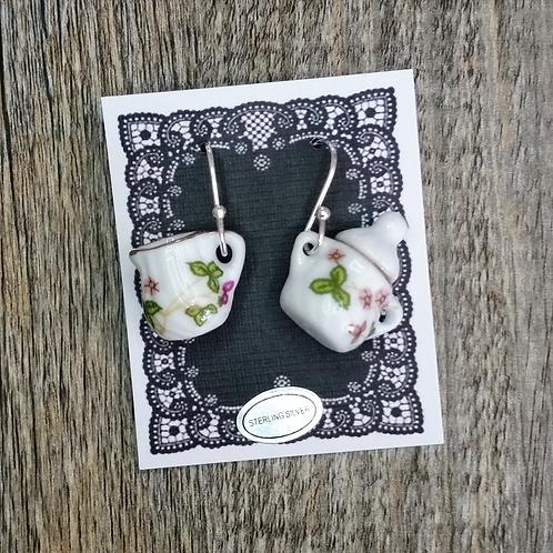 spring flower milk & sugar earrings