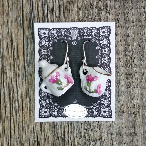 blossom milk & sugar earrings