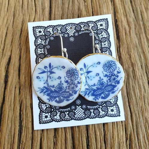 willow side-plate earrings