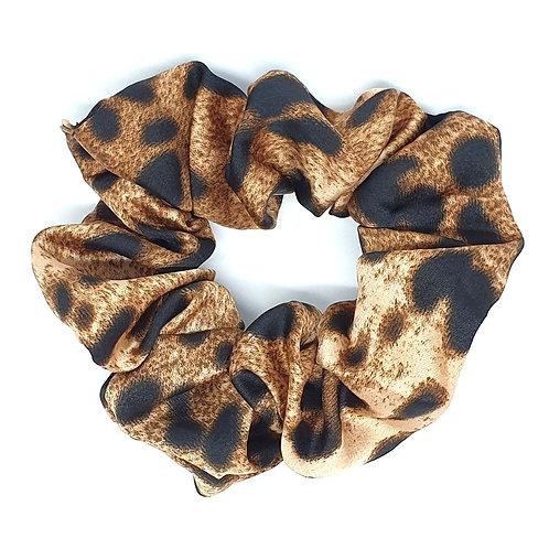 Leopard Spot Scrunchies