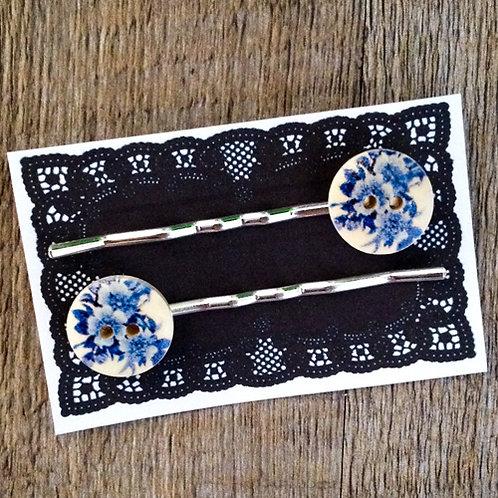 china rose bobby pins