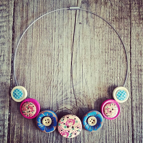 baroque cable necklace