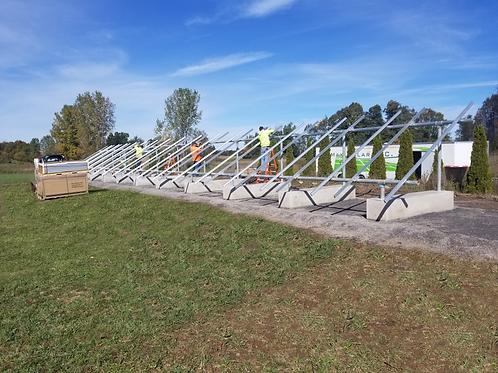 """Ballast Block for 3"""" IronRidge Ground Mount - 30 Degree Tilt"""