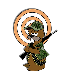 Gopher Target Retrieval System Mascot