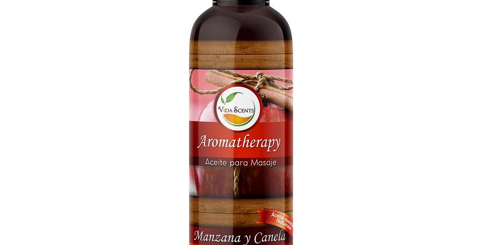 Aceite para masaje Manzana & Canela 125 ml.